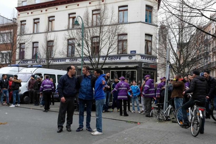 GALERII | Politsei ajas Brüsselis laiali kaks meeleavaldust
