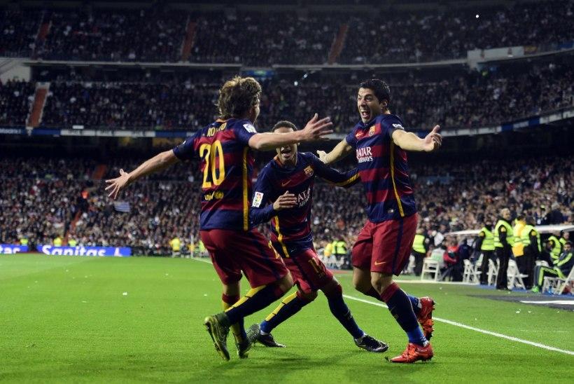 Täna kahe Hispaania suure vastasseis ehk El Clasico - FC Barcelona vs Madridi Real
