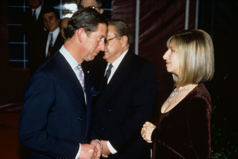 RAAMAT: prints Charles oli Barbra Streisandisse kõrvuni armunud