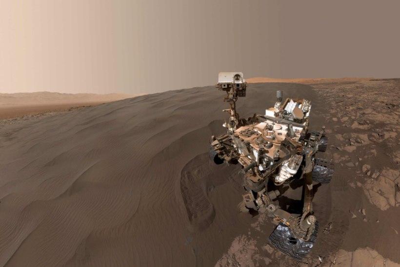 """VANDENÕUTEOREETIKUD: """"käsi"""" Marsil kuulub tuumasõjas hukkunud tulnukale"""