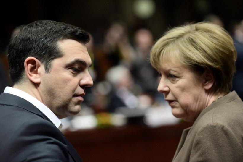 Tsipras võttis Merkelile hädakõne