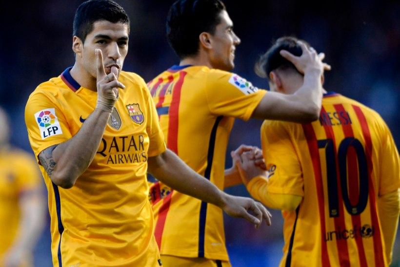 Luis Suarez läks hulluks: 4 väravat ja 3 väravasöötu!