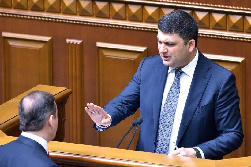 """Ukraina peaminister: """"Me ei osta Venemaa käest ei gaasi ega kivisütt!"""""""