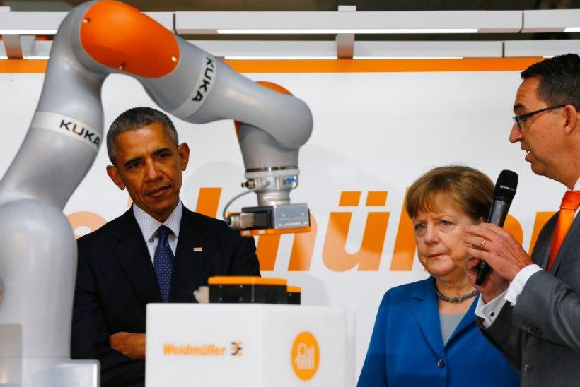 GALERII | Barack Obama ja Angela Merkel avasid Hannoveri messi