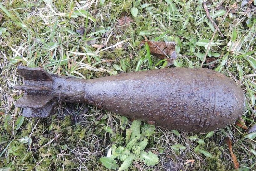 Pärnumaal leiti lõhkematerjalita miin