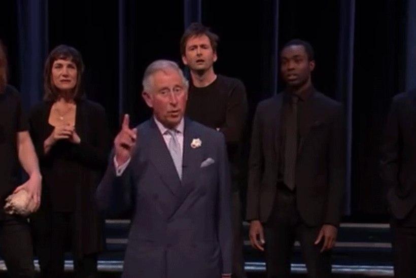 BRAAVO! Prints Charles kehastus BBC sketšis Hamletiks