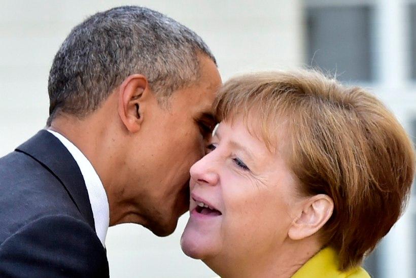 Obama avaldas Merkelile armastust