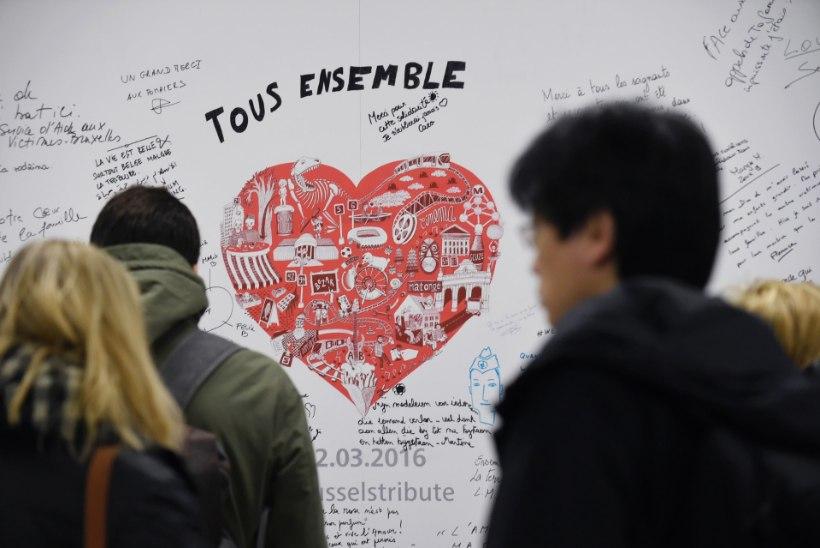 FOTOD | Brüsselis taasavati terrorirünnakust kahjustatud metroojaam