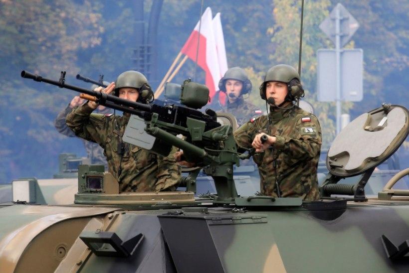 Balti riikidesse saadetakse Visegrádi riikide üksused