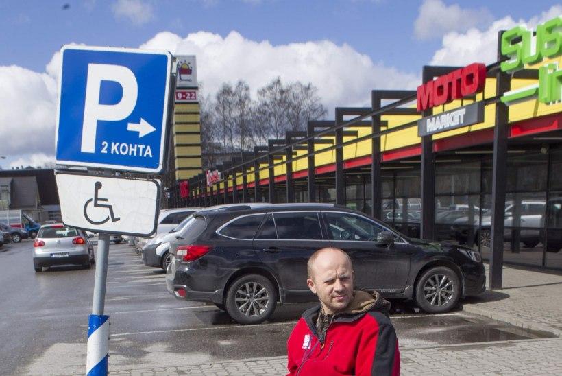 """""""Invakohale parkimine pole meie jaoks mugavus, vaid see on hädavajalik."""""""