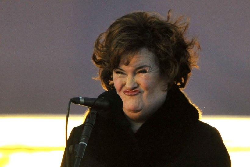 Susan Boyle lõi lennujaamas lamenti