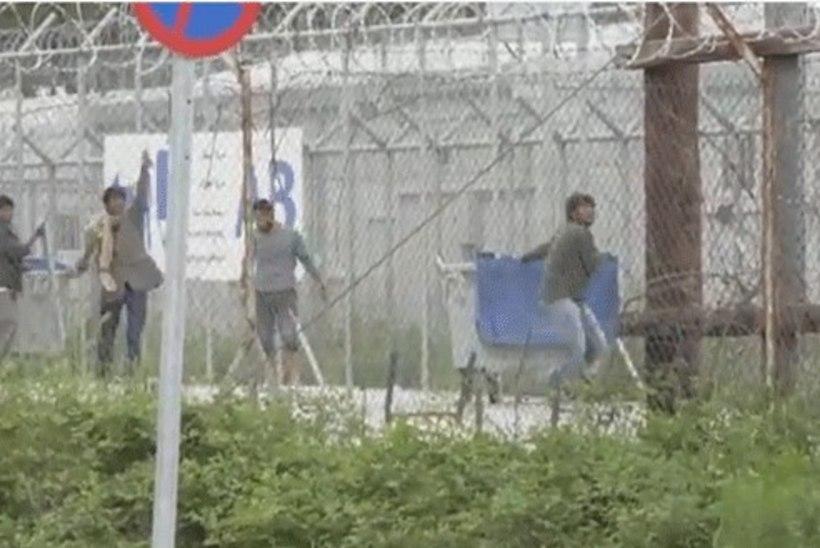 VIDEOD   Lesbosel puhkes migrantide mäss