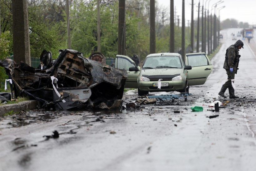 FOTOD | Ida-Ukrainas sai surma neli tsiviilelanikku, nende seas rase naine