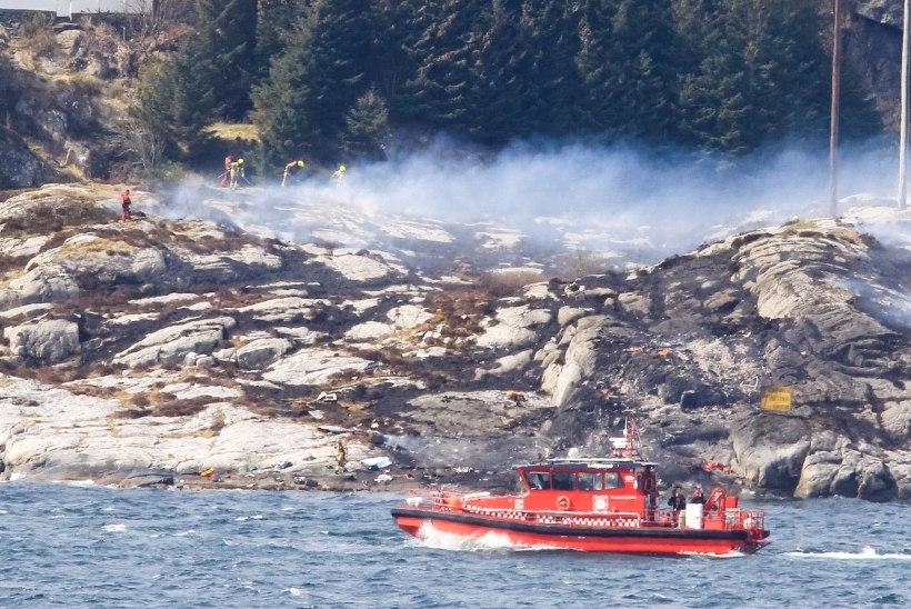 TV3 VIDEO JA FOTOD | Norras kukkus kopter alla 13 inimesega pardal