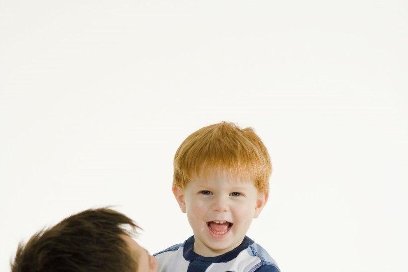 Sel lapsel on ju punased juuksed nagu meie küla sepal!