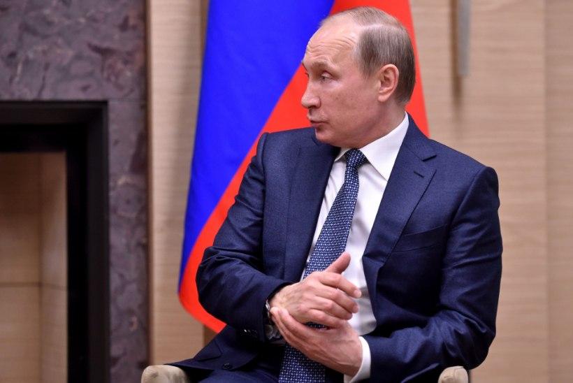 Kaunitar Olga Li heitis Putinile kinda