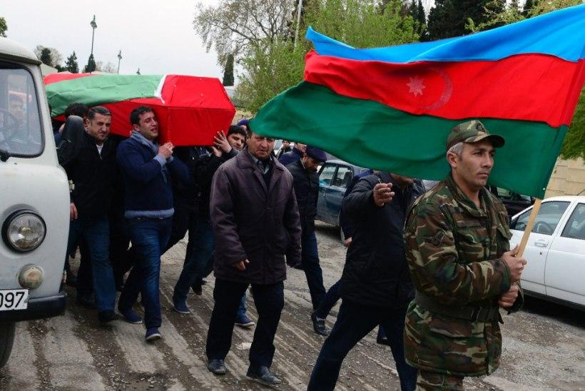 Aserbaidžaan kehtestas Mägi-Karabahhis ühepoolse vaherahu