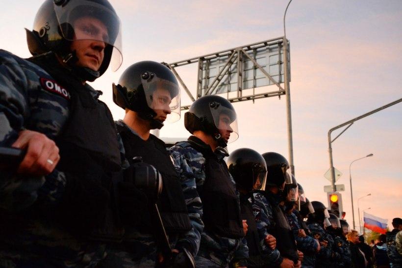 OMON jahib Moskvas ja Peterburis terroristliku sekti liikmeid