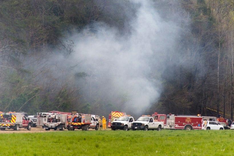 Tennessee helikopteriõnnetuses hukkusid turistid