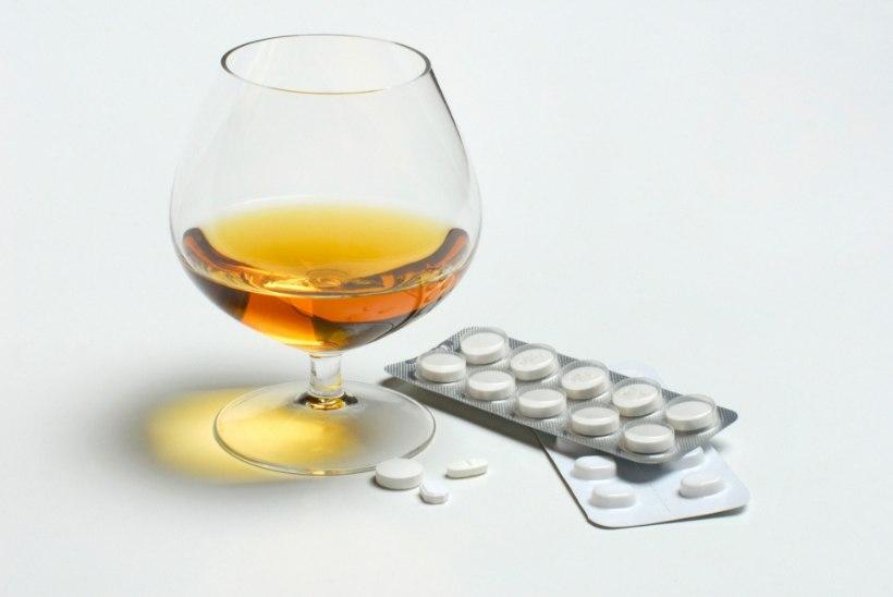 Kas ravimid ja alkohol sobivad kokku?