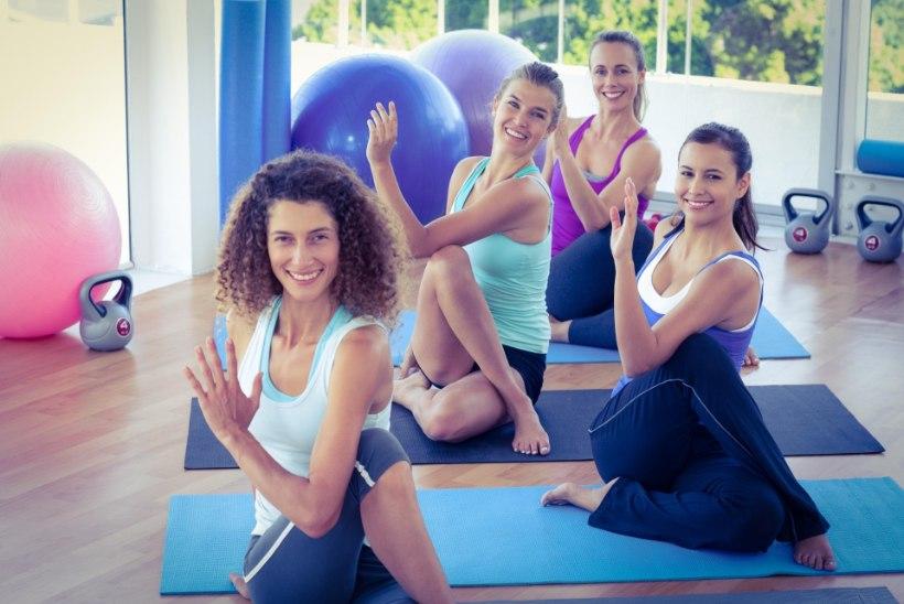 Spaas kiika tervise tugevdamiseks ka rühmatreeningutesse