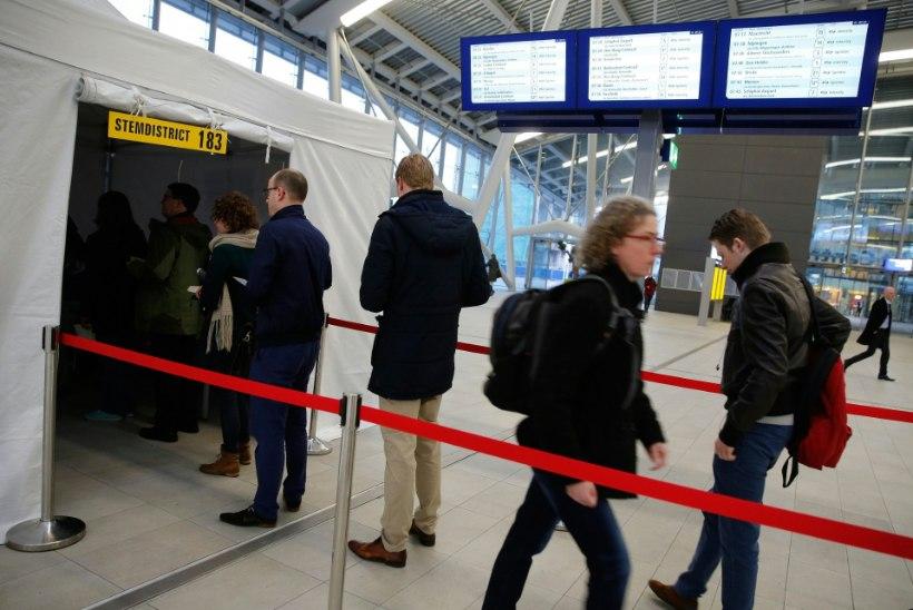 Hollandlased hääletasid esialgsetel tulemustel EL-i ja Ukraina vahelise leppe vastu