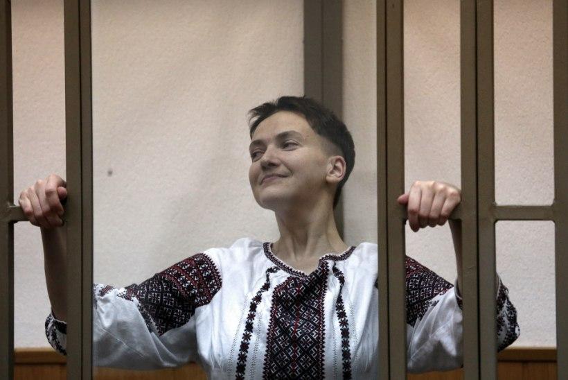 Ukraina usub, et Savtšenko saab varsti vangist vabaks