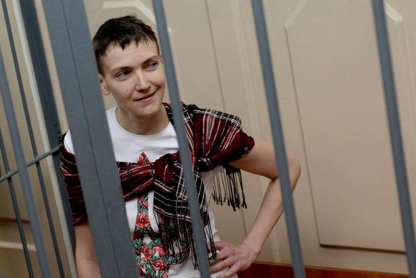 Nadia Savtšenko alustas kuiva näljastreiki