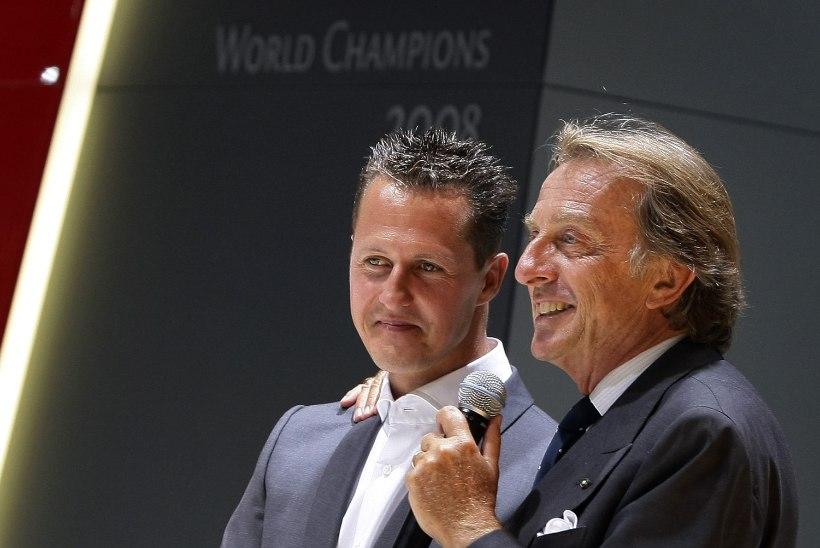 Endine Ferrari tiimi boss: olen täiesti kindel, et Michael Schumacher saab terveks!