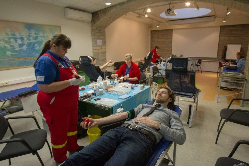 Iga viies veredoonor loovutas verd esmakordselt