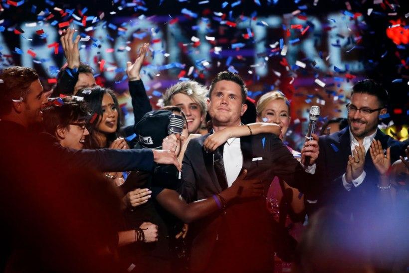 """VIDEO   See vinge häälega kutt sai """"American Idoli"""" viimaseks võitjaks"""