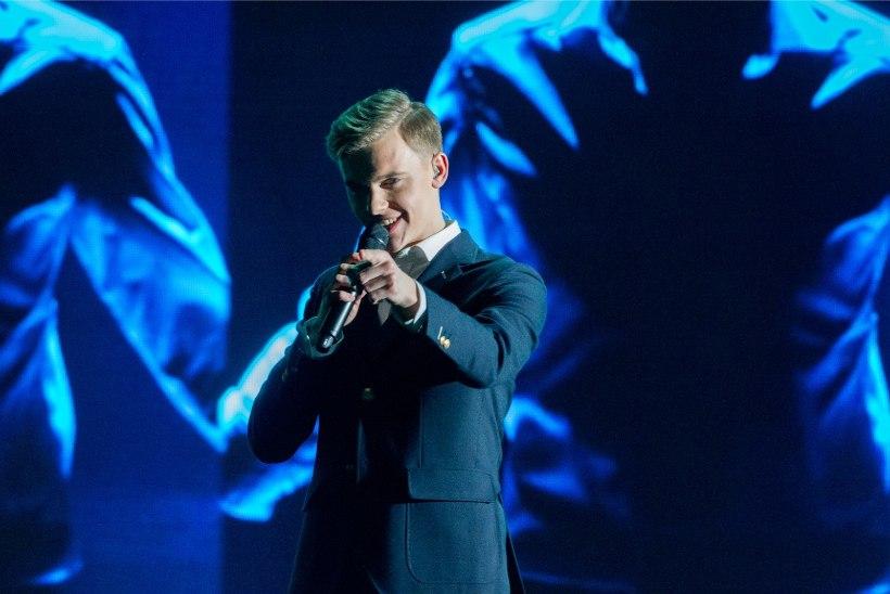 Jüri Pootsmann teeb Eurovisioni laval kaarditriki!