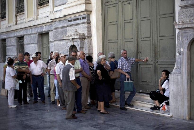 Kreeka raha voolas Saksa- ja Prantsusmaa pankadesse