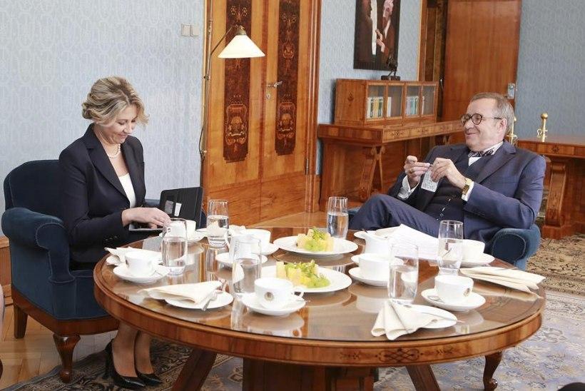 Liiga tihe ajakava: president Ilves jättis andekad koolinoored pika ninaga