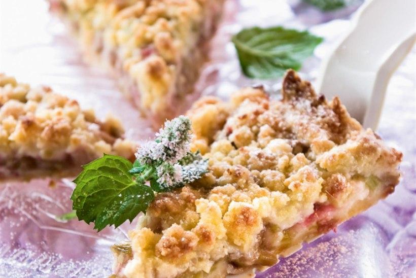 Martsipani-rabarberi purukook ingveriga