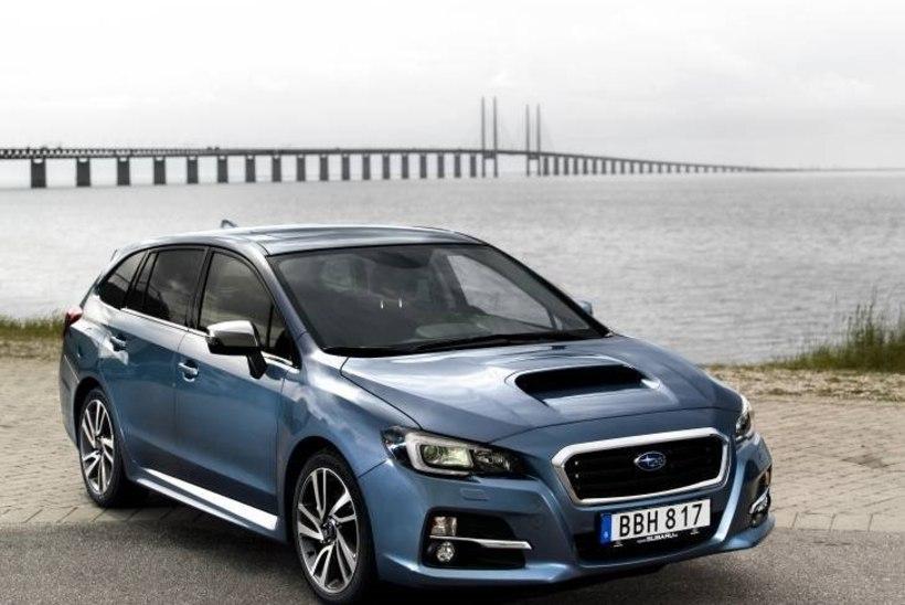 Proovisõit - Subaru Levorg