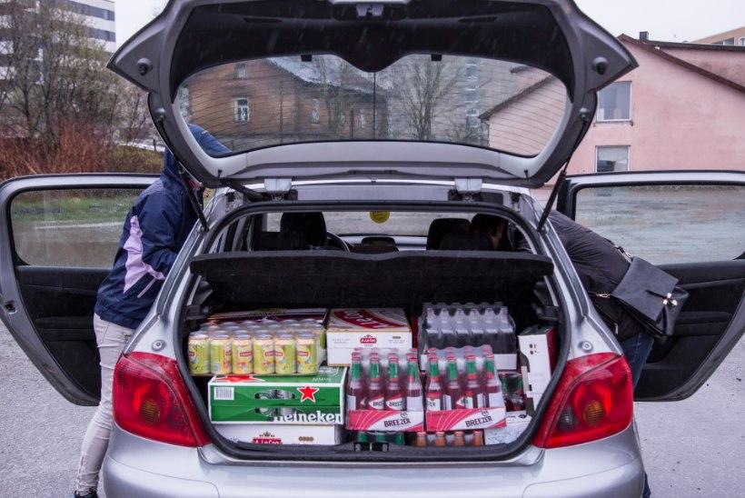 Soome leht: soomlased sõidavad viinarallile Tallinna asemel Läti Valka