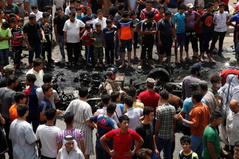 FOTOD | Islamiriik ründas Iraagis taas šiiasid: autopomm tappis üle 60 inimese