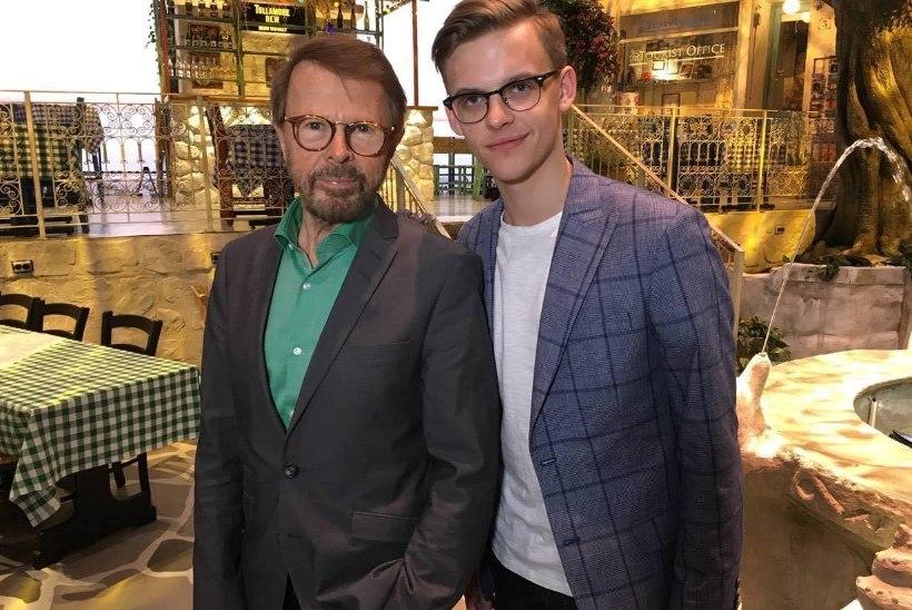 PILTUUDIS | Jüri Pootsmann kohtus ABBA asutajaliikmega