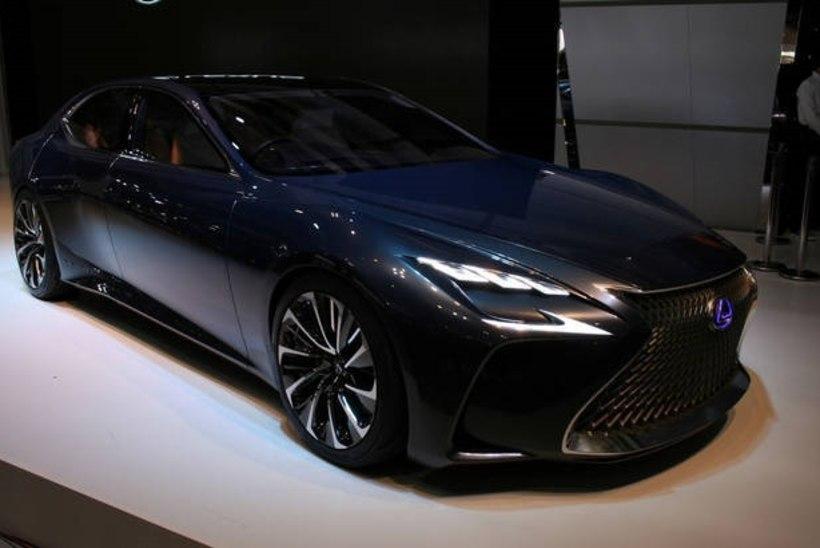 Lexus LS 2018 võib näha järgmise aasta alguses