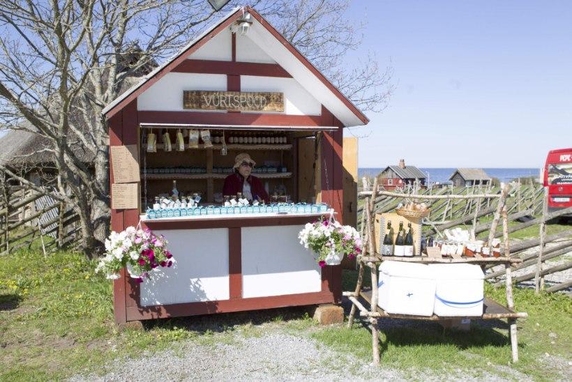 Taluturult leiad nii kohalikku kala ja köögivilja kui ka sinki-juustu