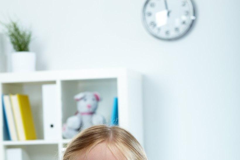 Kaheksa märki, et lapsega on vaja silmaarstile minna