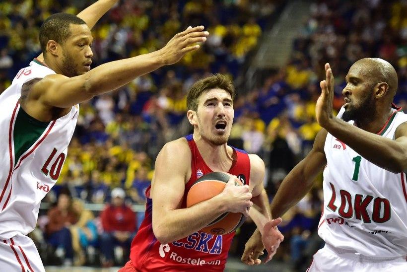 VENELASTE VENNATAPLUS: CSKA tõmbas MVP De Colo hiilgemängu abil Kubanile koti pähe ja sammus Euroliiga finaali