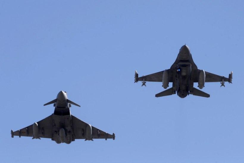 Briti hävitajad takistasid Vene lennukite sisenemist Balti õhuruumi