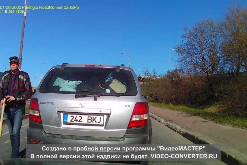 Lasnamäel kurikaga vehkinud autojuht astus kohtu ette