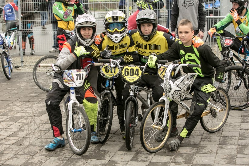 GALERII | King on Tallinn BMX rattakrossi tiitel rändas Lätti