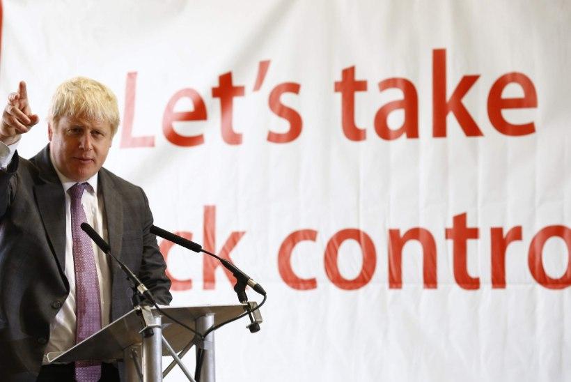 Briti poliitiku vihasõnad Euroopa Liidu pihta
