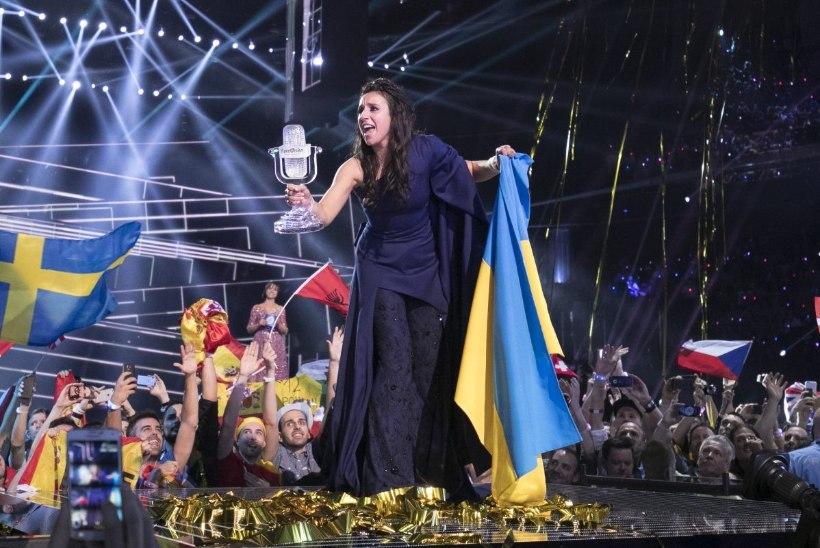 """Eurovisioni võitja Jamala: kuulasin oma etteasteks valmistudes filmi """"Schindleri nimekiri"""" nimilugu ja soovisin, et minu laulus oleks samasugune jõud"""