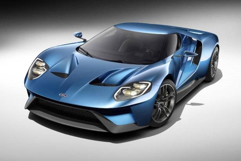 Ford müüb esimesed pooltuhat GT'd