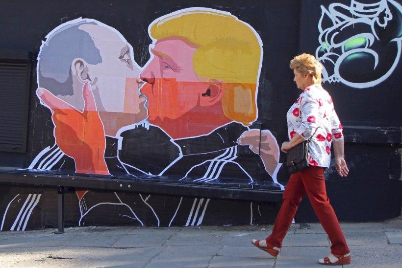Vilniuses näeb Putinit Trumpiga suudlemas